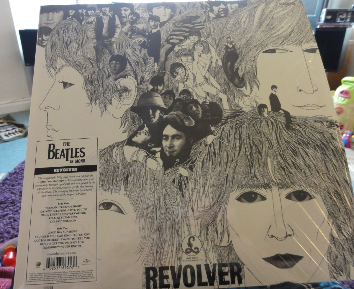 My own spin on The Beatles' remastered 'Revolver' in mono